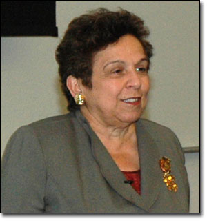 """Donna Shalala spoke at AHCJ's """"Aging in the 21st Century"""" workshop in October. (Photo: Charles Ding)"""